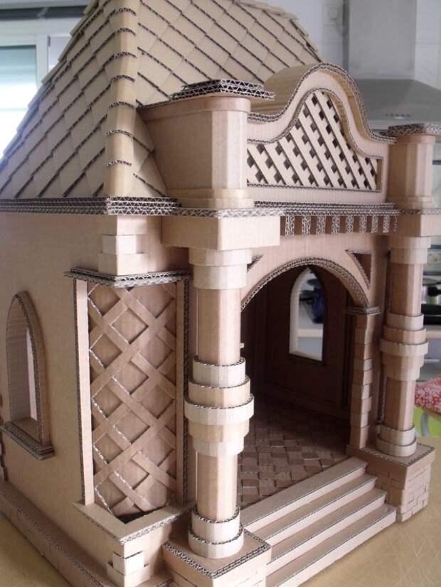 кошачьи домики и дворцы