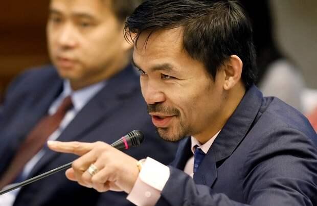 Президент из трущоб: легенда бокса Мэнни Пакьяо выдвинул кандидатуру на пост главы Филиппин
