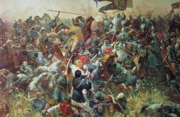 Князья - участники Куликовской битвы.