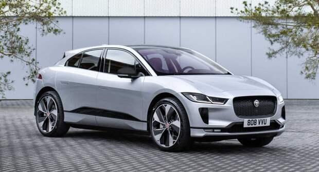 Jaguar I-Pace Black Edition дебютирует с привлекательными акцентами