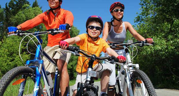 «Велосипедное Подмосковье» все больше интересует семьи с детьми