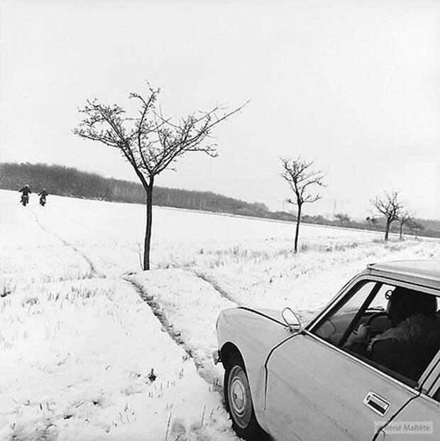 Тонкий юмор от гения фотографии Рене Мальтета