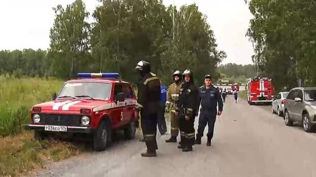 Пожар на военном складе в Красноярском крае потушен