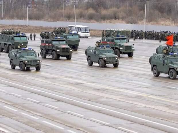 Движение в Подмосковье ограничат из-за подготовки к параду Победы