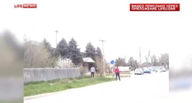 Полицейские уничтожили трех боевиков при попытке теракта у Ставропольского ОВД