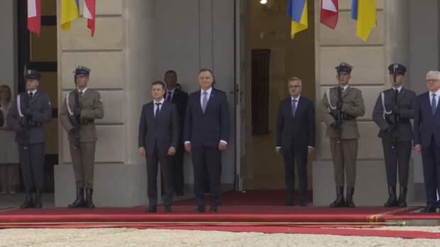 Зеленский и Дуда начали двусторонние переговоры