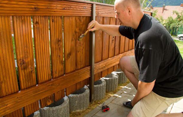 Как защитить дерево от гниения без использования дорогой краски и пропитки