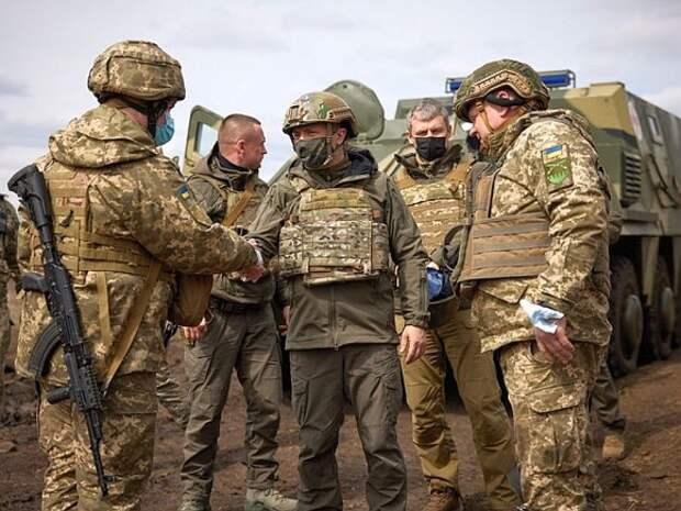 Зеленский побывал на границе с Крымом