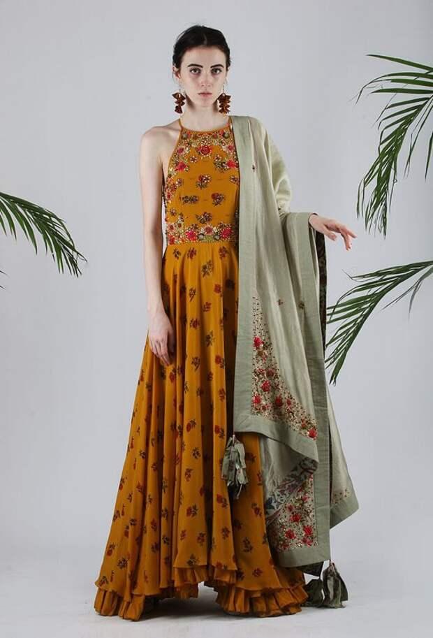 индийский декор платьев