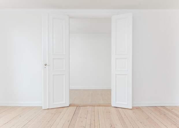 Интерьер, Закрытый, Уайт, Стены, Открытый, Дверь, Этаж