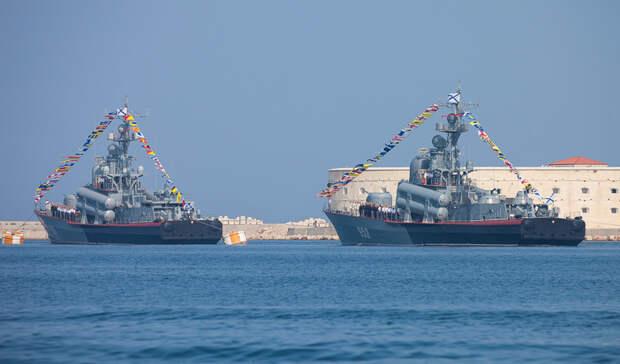 ВЯпонском море прошли артиллерийские учения военных судов Тихоокеанского флота