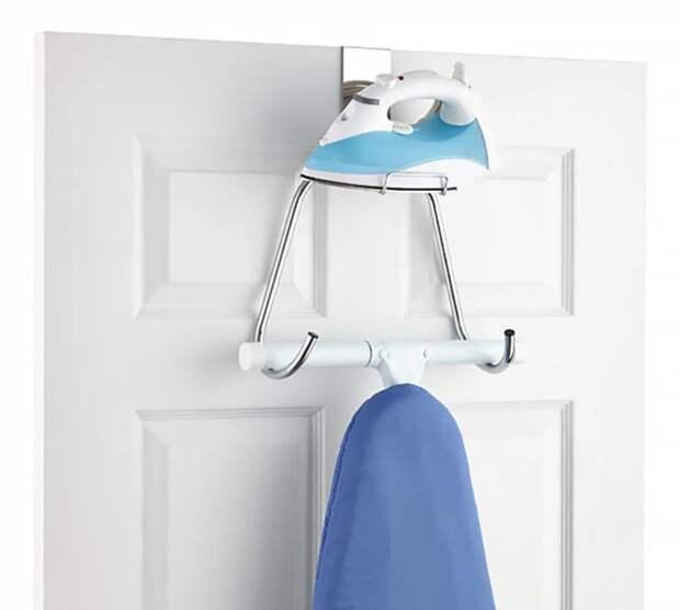 Идеи для хранения гладильной доски. Или 10 мест, где можно спрятать гладильную доску, фото № 39