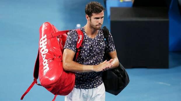 Хачанов вылетел с US Open, уступив австралийцу де Минауру. В решающей партии он проиграл 6 геймов подряд