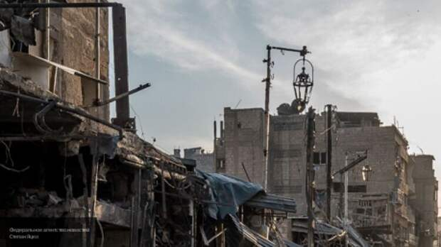 Неизвестные в Думе обстреляли КПП правительственных сил Сирии