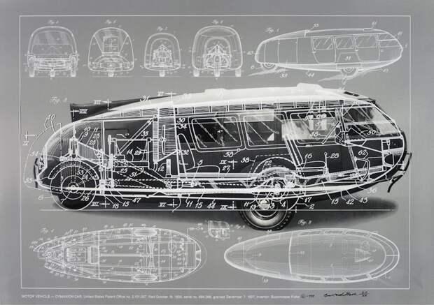 Тот случай, когда дедушки были повернуты на аэродинамике автомир, аэродинамика, из прошлого, конструкция, обтекаемость. формы