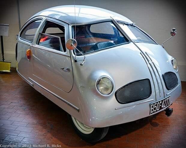 Hoffman (1951) автомир, аэродинамика, из прошлого, конструкция, обтекаемость. формы