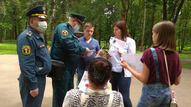 Инспекторский состав Управления МЧС по СЗАО регулярно проводит профилактические рейды