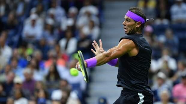 Надаль стал участником третьего круга US Open, не выходя на корт