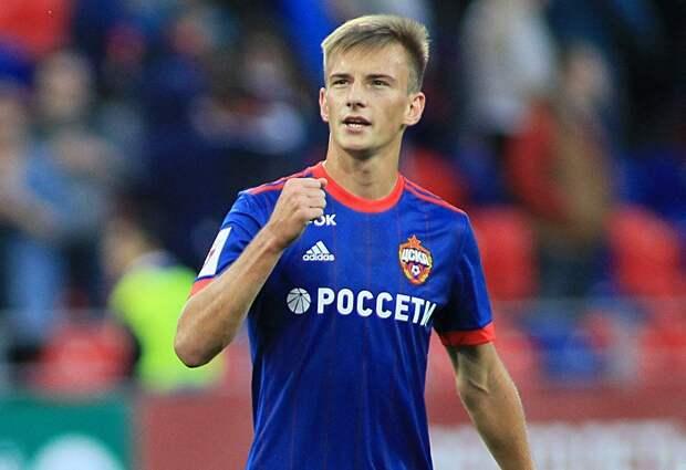 Футболист ЦСКА Кучаев приступил к тренировкам в общей группе с ограничениями