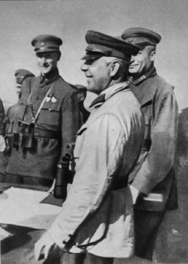 На маневрах войск Приволжского военного округа. СССР, 1934 год.