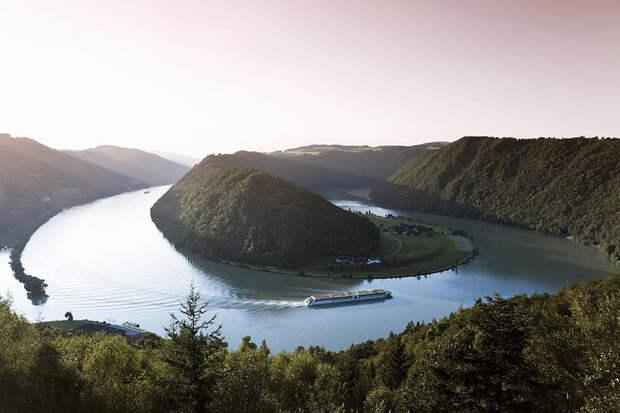 Река Дунай, фотография