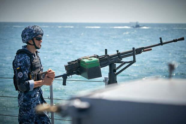 Украинский флот начал внезапные военные учения в Чёрном море