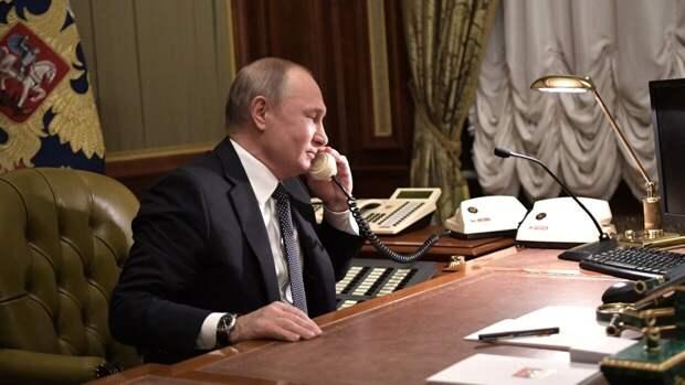 Путин и Байден не обсуждали Навального в ходе телефонной беседы