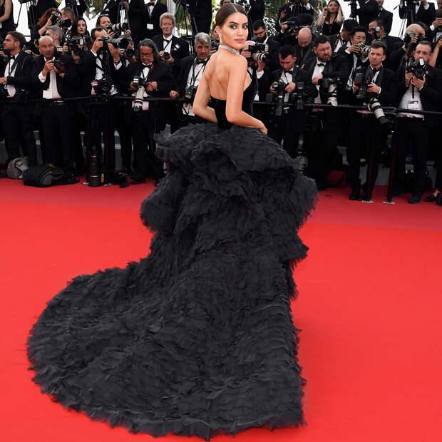 Девушка на миллион»: Звезда Каннского фестиваля поразила красную дорожку самым дорогим платьем