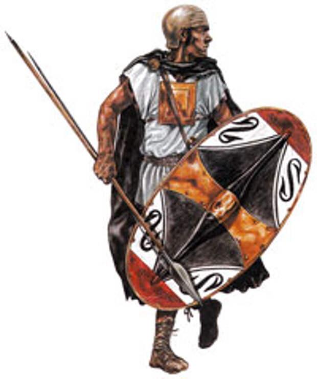 Испанский пехотинец армии Ганнибала