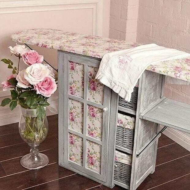 Идеи для хранения гладильной доски. Или 10 мест, где можно спрятать гладильную доску, фото № 26