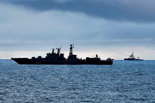 """Пожар на ледоколе """"Виктор Черномырдин"""" причинил ущерб на 1,5 млн рублей"""