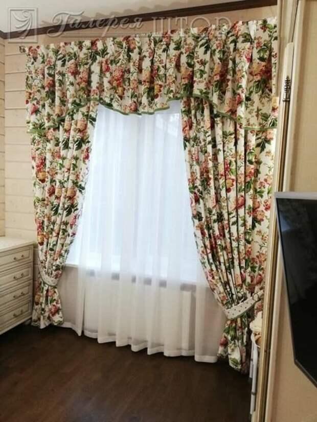 Как красиво повесить шторы. Варианты оформления.