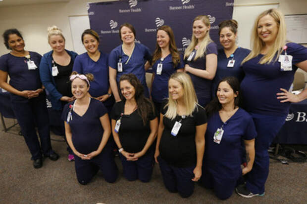 «Беби-бум» в больнице: 16 медсестер объявили о беременности