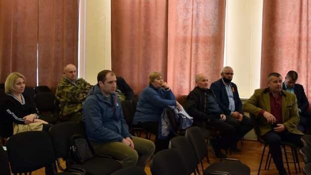 Андрей Захаров и Жанна Хуторенко провели рабочее совещание с главами сельских поселений