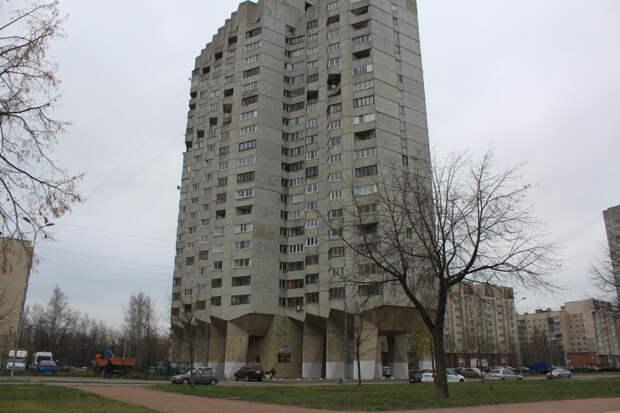 «Морской фасад» Ленинграда — Санкт-Петербурга