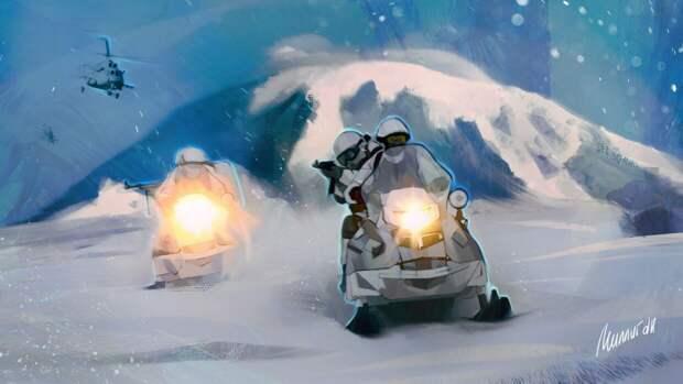 NI: масштабные учения ВС России в Арктике мешают планам военного руководства США
