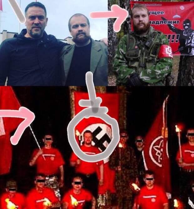 Шевченко демонстративно примкнул к акции в поддержку Навального