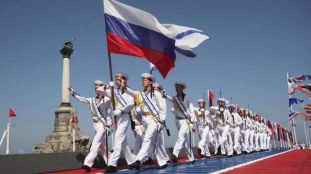 В конце июля мы по традиции отмечаем день Военно-морского флота!