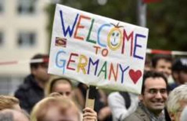Германия потратила рекордную сумму на беженцев