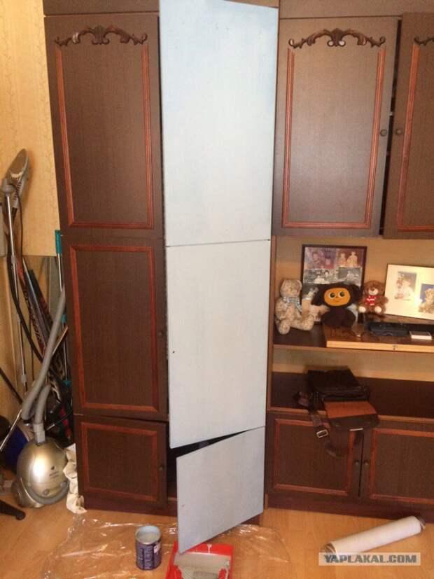 Как я обновлял шкаф