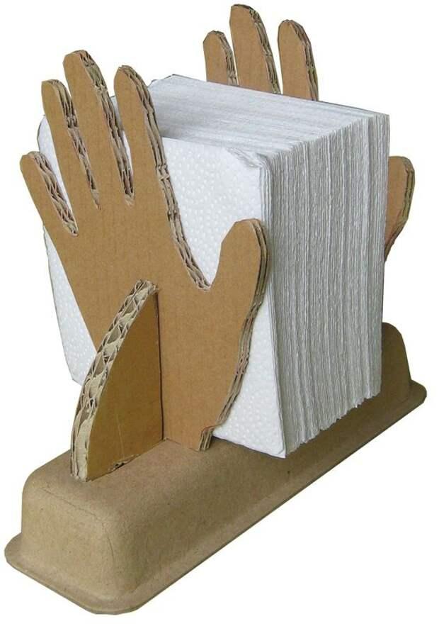 Салфетница из картона (мк)