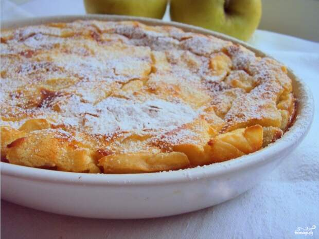Яблочная запеканка