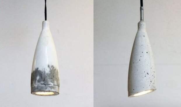 Делаем лампу в стиле лофт своими руками