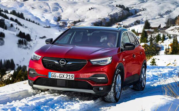Первый Opel для России: тест-драйв кроссовера Grandland X