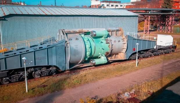 Завод «ЗиО‑Подольск» завершил отправку реакторов для 3 ледоколов нового поколения