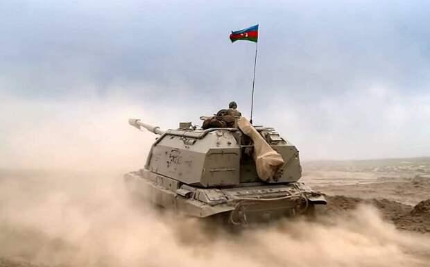 Азербайджан начал наступательную операцию в Нагорном Карабахе
