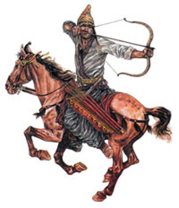 Парфянский конный лучник