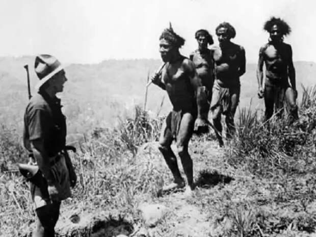 Момент, когда у жителей Новой Гвинеи рухнуло всё представление об окружающем мире История, Интересное, Первая встреча, Разные, Цивилизация, Туземцы, Европейцы, Фотография, Длиннопост, Папуа-Новая Гвинея
