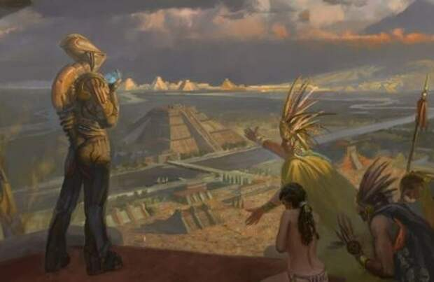 Древние индейцы и инопланетяне