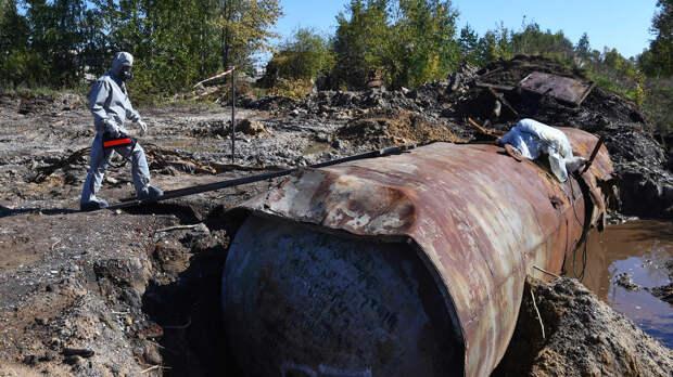 Контроль за токсичными отходами предложили ужесточить в России